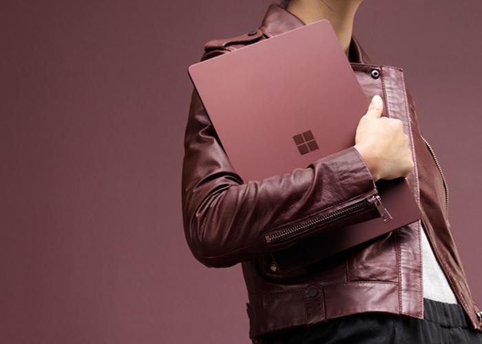 Imagen promocional de la nueva Surface ultrabook