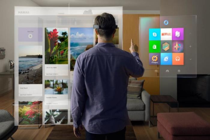 Usando HoloLens