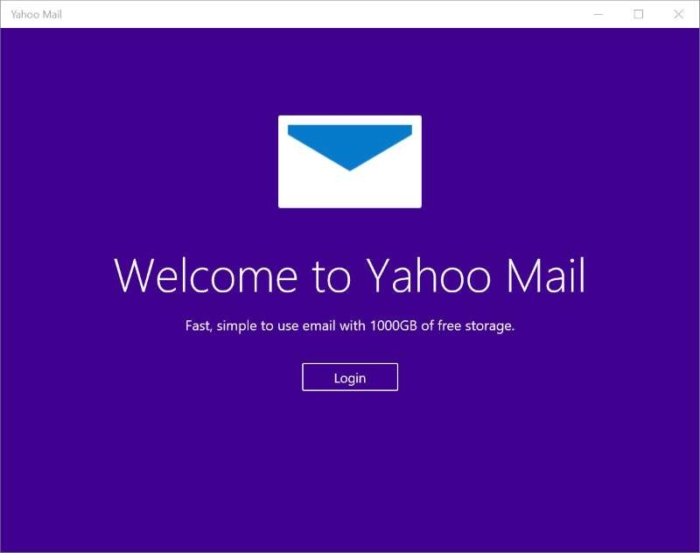 Welcome Yahoo Mail