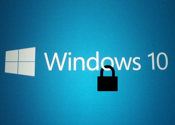 Windows 10 Candado