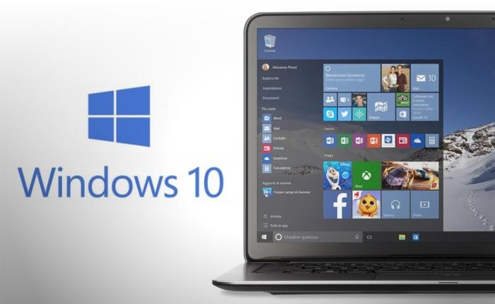 Windows 10 Junto Laptop