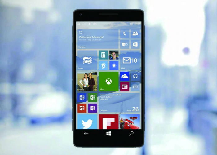 Windows 10 Mobile Phone