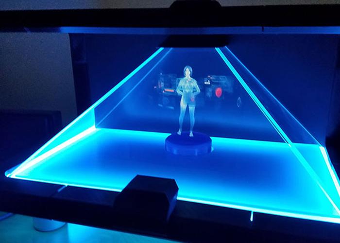 Cortana en tu hogar con hologramas