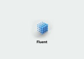 Imagen promocional de Fluent Design