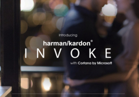 Logo del Harman Kardon Invoke