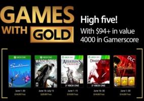 juegos con gold junio 2017