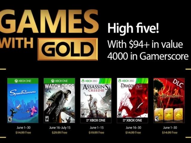 Estos Son Los Juegos Con Gold De Junio Para Xbox One Y Xbox 360 No