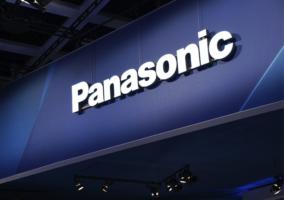 Logo de Panasonic en un evento