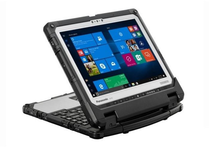 Imagen del nuevo Panasonic Toughbook 33 con su teclado