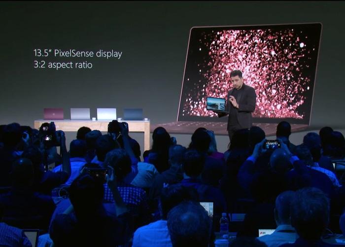 pantalla surface laptop