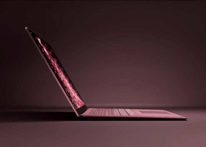 surface laptop color vino