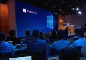 Imagen del evento de presentación de Windows 10 S