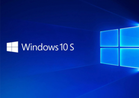 Logo de Windows 10 S