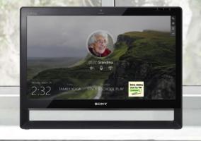 Captura de la interfaz de Windows 10 Home Hub
