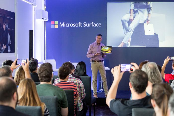 Microsoft Iberia presentacion Surface Laptop y Surface Pro