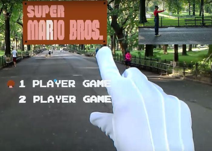 Super Mario Bros HoloLens