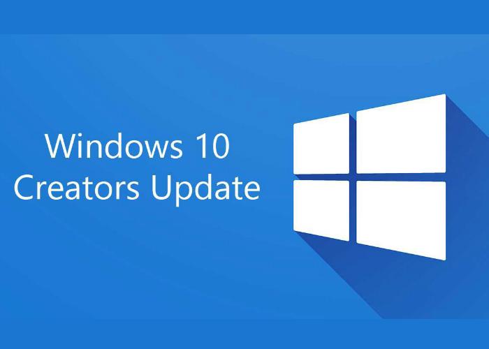 W10 Fall Creators Update