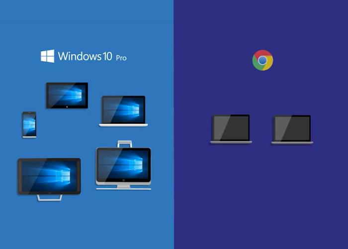 W10 Pro VS Chrome