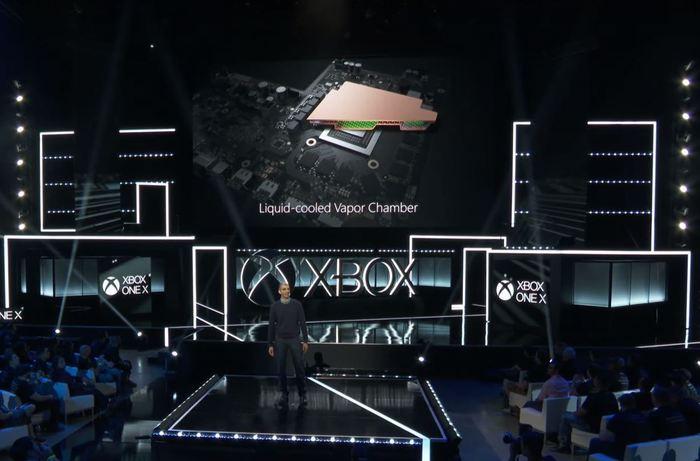 Xbox One X refrigeracion