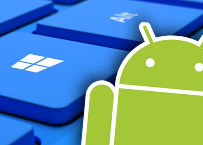 Android Teclado Windows
