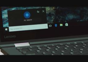 Anuncio Cortana Lenovo