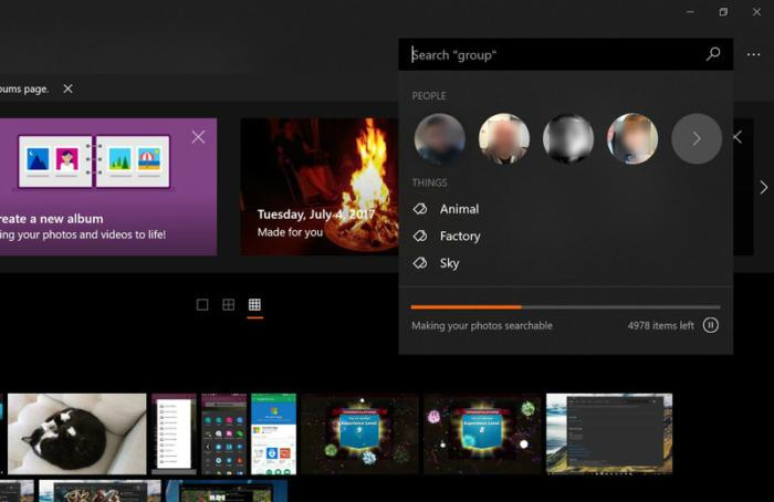 Busqueda Inteligente OneDrive