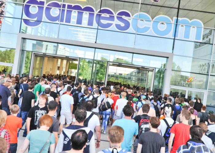 Gamescom Entrada