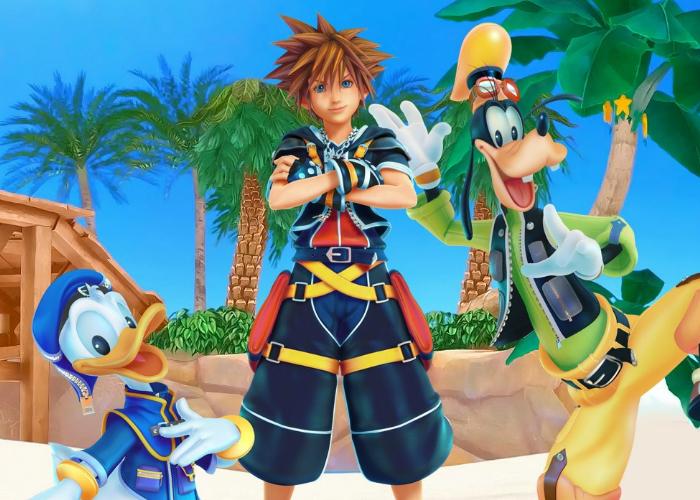 Kingdom Hearts Protagonistas