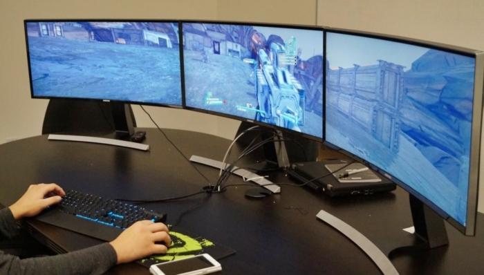 Monitor Samsung curvo gamer