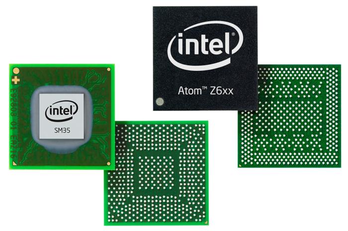 Procesadores Intel Atom Tablets