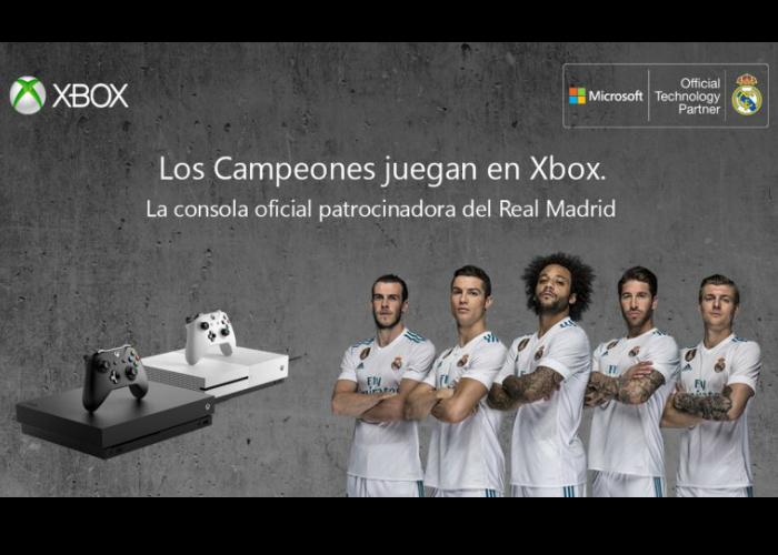 Xbox Patrocinador Real Madrid