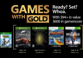 Games Gold Septiembre 2017