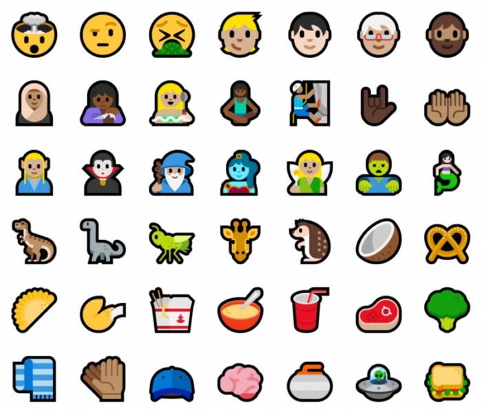 Nuevos Emojis Windows Mobile