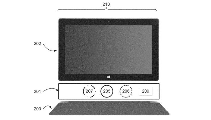 Patente Microsoft Mirada