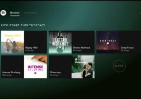Spotify En Xbox