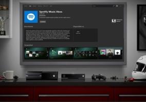 Spotify Pantalla Xbox