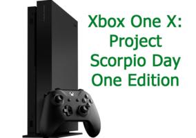 Xbox Project Scorpio Edition
