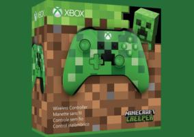 Control Xbox Minecraft Creeper