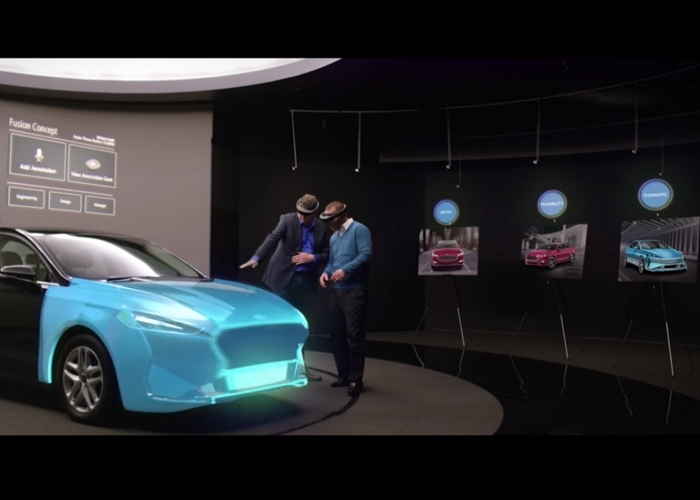 Hololens Diseño Ford