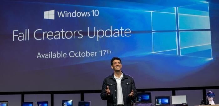 Presentación Fall Creators Update