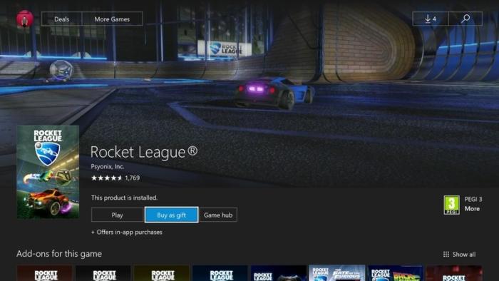 Comprar Como Regalo Xbox
