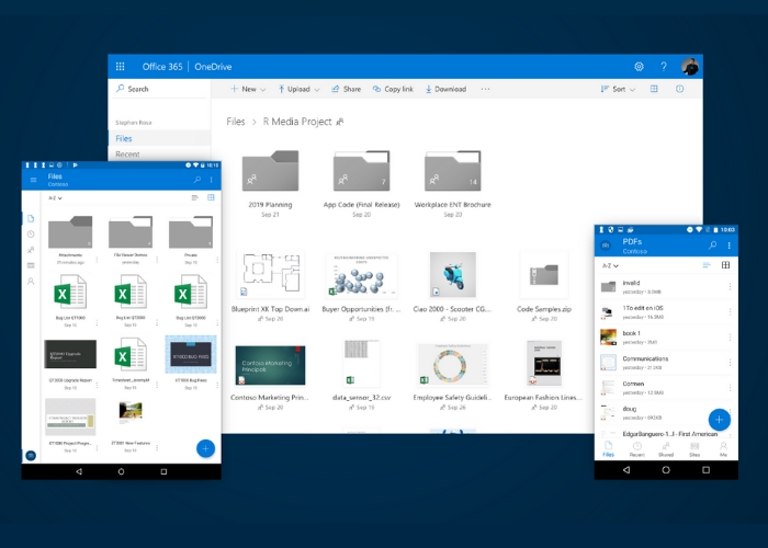 Nuevo Diseño OneDrive