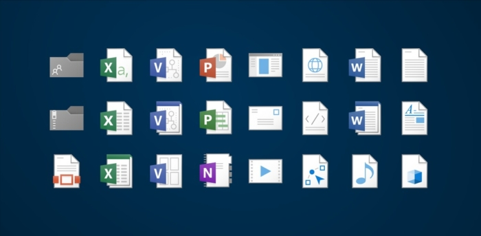 Nuevos Iconos OneDrive
