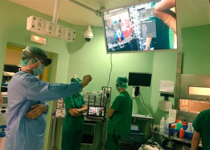 Operacion Con HoloLens