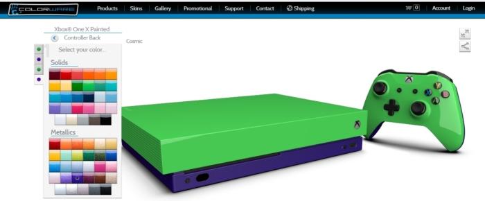 Personalizando Xbox One X