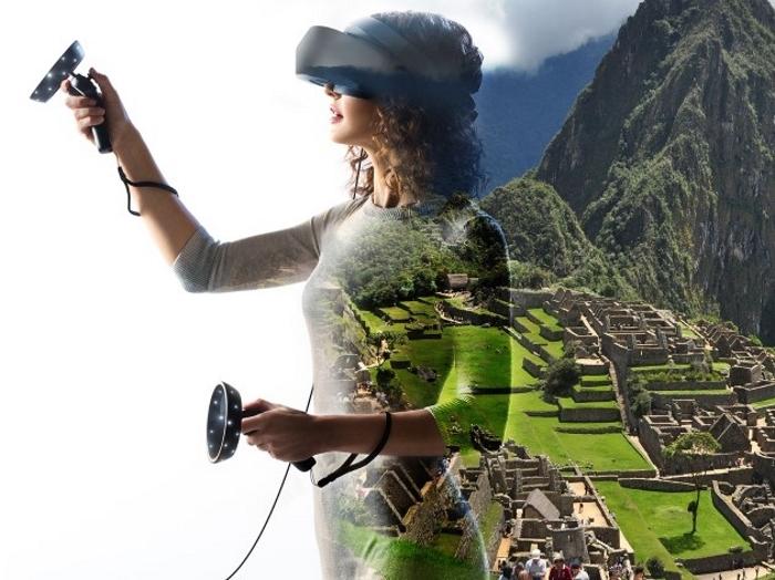 Usando Gafas VR Samsung