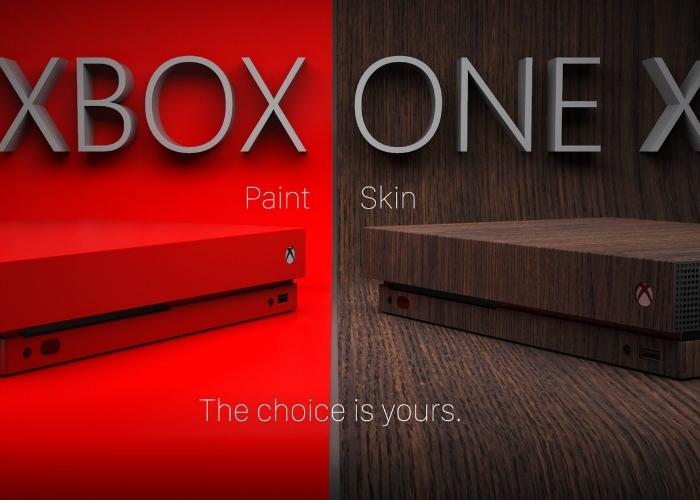 Xbox One X Personalizaciones