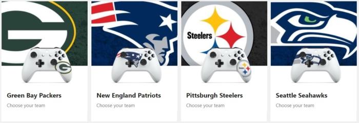 Controles Xbox NFL