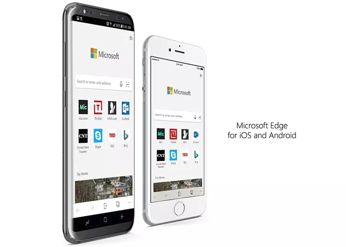 Edge Android iOS