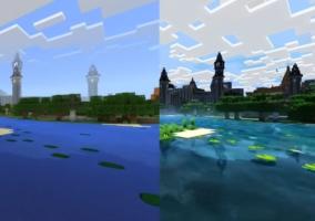 Mejoras Minecraft Xbox One X